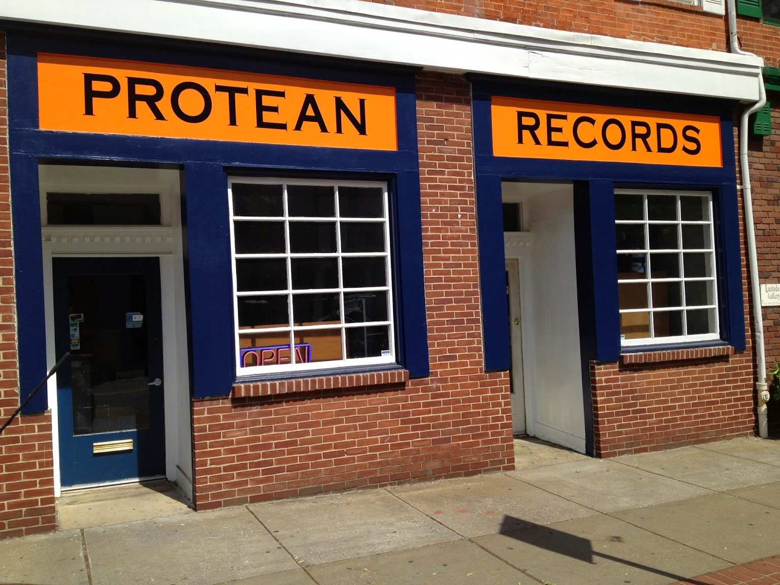 protean records - s charles street federal hill baltimore